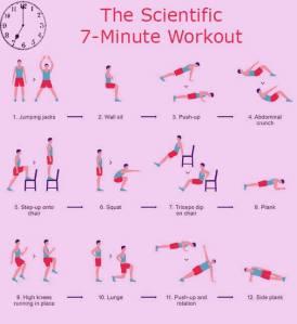 7 min workout sci