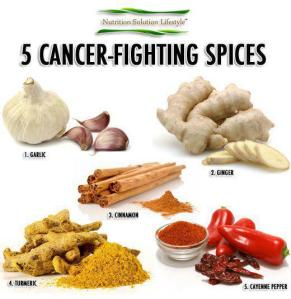 HEALTH 5 cancer fighting spices