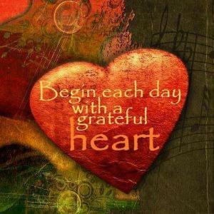 400 MOTIVATE ART grateful heart