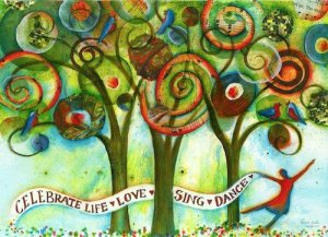 ART celebrate life trees