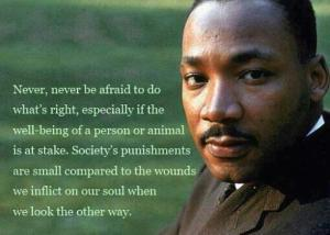 MLK do the right thing