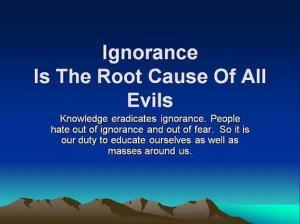 MOTIVATE ignorance root