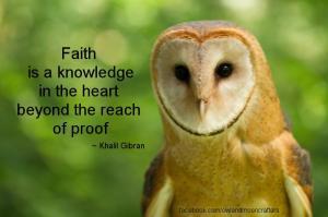 MOTIVATE owl faith