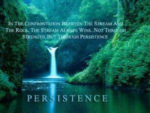 MOTIVATE persistence stream vs rock