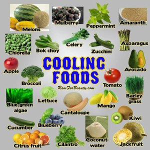 HEALTH cooling foods