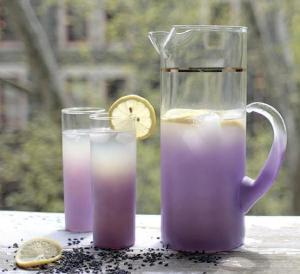 lavender ice tea