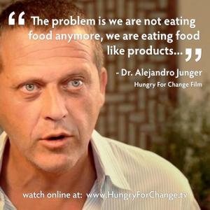 HEALTH not eating food mr. junger
