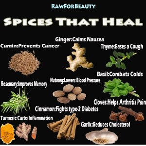 HEALTH spices that heal