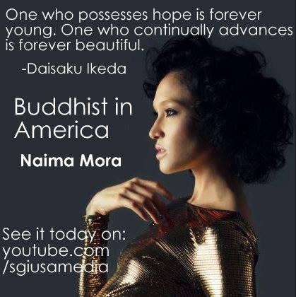Buddhist In America: Naima Mora